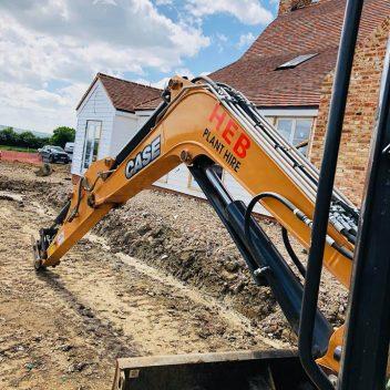heb contractors excavators
